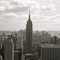 Buy canvas prints of Manhattan by Holly Stanley
