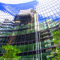 Buy canvas prints of Reflections - The Willis Building - London by Colin J Williams Photography