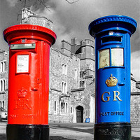 Buy canvas prints of Snail Mail, Royal Windsor by Colin J Williams Photography