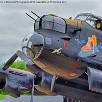 Buy canvas prints of Lancaster - Just Jane by Colin J Williams Photography