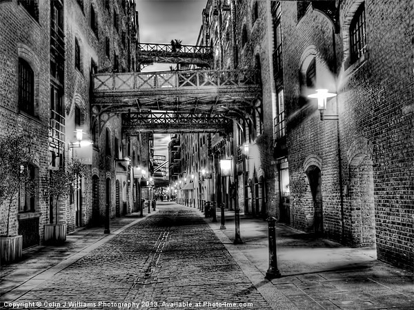 Shad Thames - London Canvas Print by Colin J Williams Photography