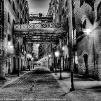 Buy canvas prints of Shad Thames - London by Colin J Williams Photography