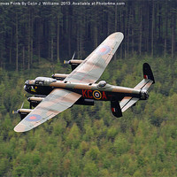 Buy canvas prints of Dambusters 70 Years On - The Derwent Dam 1 by Colin J Williams Photography