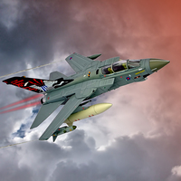 Buy canvas prints of Storming !! Tornado GR4 617 Squadron by Colin J Williams Photography