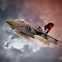 Buy canvas prints of Storming 2 !! Tornado GR4 617 Squadron by Colin J Williams Photography