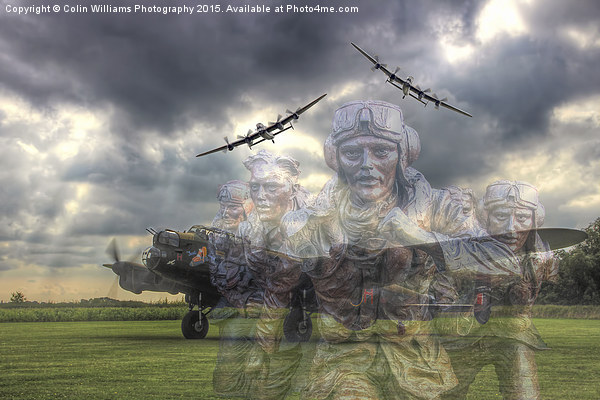 The Ghosts Of East Kirkby Canvas print by Colin Williams Photography