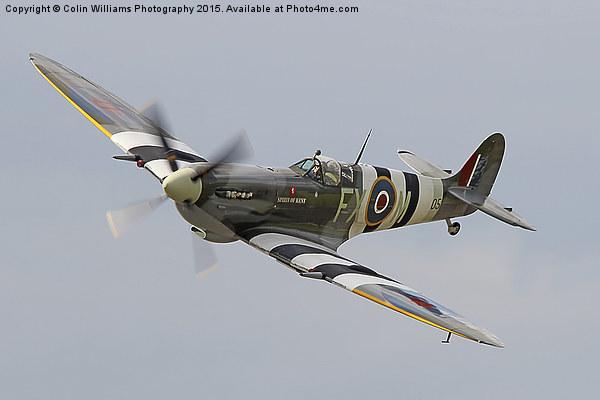 Spitfire Biggin Hill Canvas Print by Colin Williams Photography