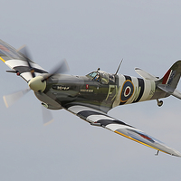 Buy canvas prints of  Spitfire Biggin Hill by Colin Williams Photography