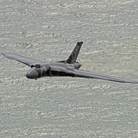 Buy canvas prints of  Vulcan XH558 from Beachy Head 6 by Colin Williams Photography