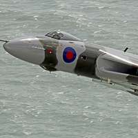 Buy canvas prints of  Vulcan XH558 from Beachy Head 7 by Colin Williams Photography