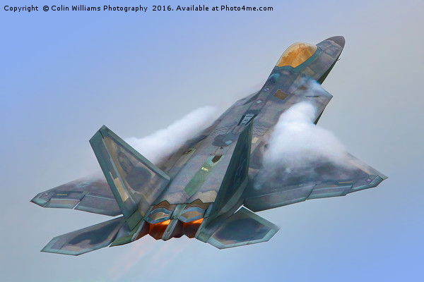 F22A Raptor RIAT 2016 - 1 Canvas print by Colin Williams Photography