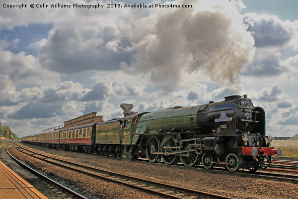 Tornado 60163 At Westfield Kirkgate 11.05.2019 - 1 Canvas print by Colin Williams Photography