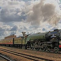 Buy canvas prints of Tornado 60163 At Westfield Kirkgate 11.05.2019 - 1 by Colin Williams Photography