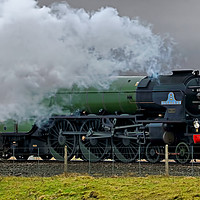 Buy canvas prints of Tornado At The Ribblehead Viaduct - 3 by Colin Williams Photography