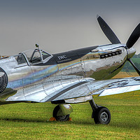 Buy canvas prints of The Silver Spitfire 2 by Colin Williams Photography