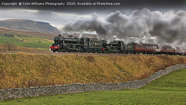 The Citadel Steam Special 9.11.2019 Canvas print by Colin Williams Photography
