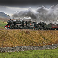 Buy canvas prints of The Citadel Steam Special 9.11.2019 by Colin Williams Photography