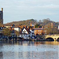 Buy canvas prints of Henley-on-Thames by Tony Murtagh