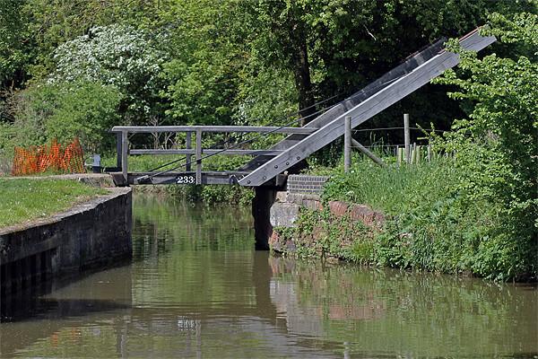 Bridge 233 Oxford Canal Canvas print by Tony Murtagh