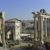Buy canvas prints of Roman Forum by Tony Murtagh