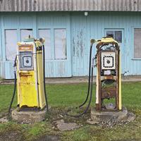 Buy canvas prints of Petrol Pumps by Tony Murtagh