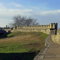 Buy canvas prints of York City Walls  by Tony Murtagh