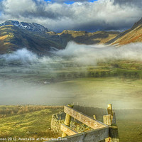 Buy canvas prints of Langdale, Lake District by Jamie Green Voluntary Ranger