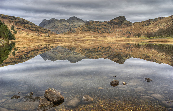 Blea Tarn March Reflections Canvas Print by Jamie Green Voluntary Ranger