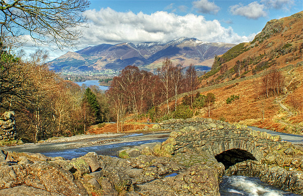 Ashness Bridge Canvas Print by Jamie Green Voluntary Ranger
