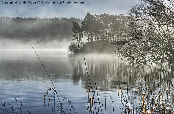 Windermere Mist Canvas Print by Jamie Green Voluntary Ranger