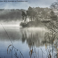 Buy canvas prints of Windermere Mist by Jamie Green Voluntary Ranger
