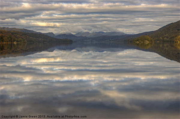 Coniston Water Canvas print by Jamie Green Voluntary Ranger