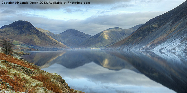 Wastwater Canvas Print by Jamie Green Voluntary Ranger