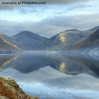 Buy canvas prints of Wastwater by Jamie Green Voluntary Ranger