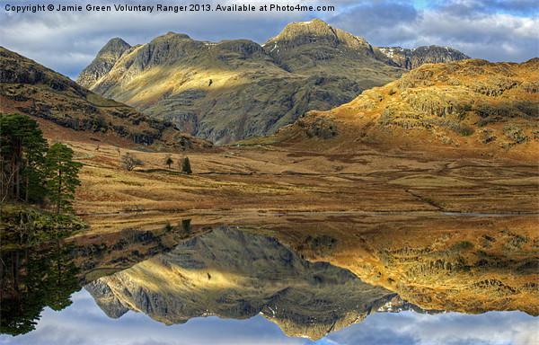 Blea Tarn, Lake District Canvas Print by Jamie Green Voluntary Ranger