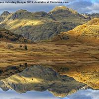 Buy canvas prints of Blea Tarn, Lake District by Jamie Green Voluntary Ranger