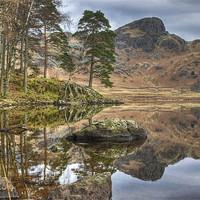 Buy canvas prints of Blea Tarn by Jamie Green Voluntary Ranger