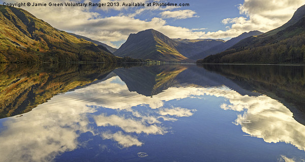Buttermere Canvas print by Jamie Green Voluntary Ranger
