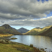 Buy canvas prints of Wastwater In October by Jamie Green Voluntary Ranger