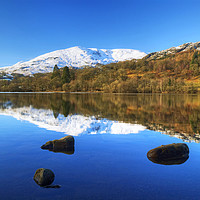Buy canvas prints of Coniston Reflections by Jamie Green