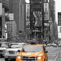 Buy canvas prints of New York Taxi by Danny Thomas