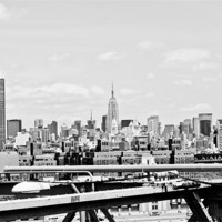 Buy canvas prints of Midtown Manhattan by Danny Thomas
