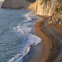 Buy canvas prints of Durdle Door Beach, Dorset by Colin Tracy