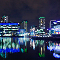 Buy canvas prints of Media City by David McCulloch