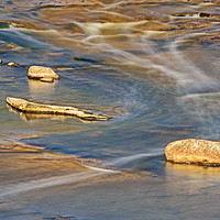 Buy canvas prints of Pendle Water Pattern by David McCulloch