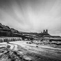 Buy canvas prints of Reculver - long exposure. by Ian Hufton
