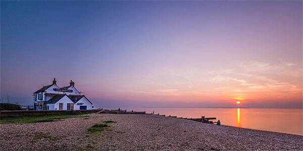 The Old Neptune sunset Canvas print by Ian Hufton