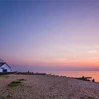 Buy canvas prints of The Old Neptune sunset by Ian Hufton