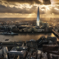 Buy canvas prints of London from the Sky Garden by Ian Hufton