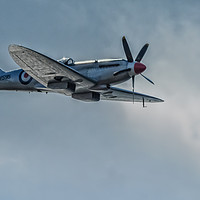 Buy canvas prints of Spitfire by John Hastings